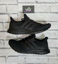 New Deadstock Adidas Ultra Boost 4.0 Triple Black Nubuck Cage 8 UK 8.5 US BNIH