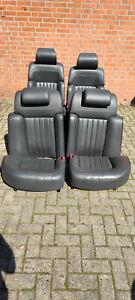 VW Phaeton W12 Lederausstattung Ledersitze Monitore elektrisch Belüftung Massage