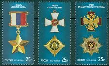 RUSSIA 2012 State Awards of the Russian Federation MNH