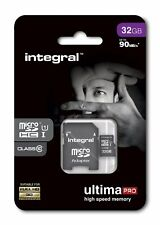 Integral 32GB Micro SDHC Card 32GB Memory Card With SD Adapter Smartphone Tablet