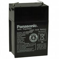 New Panasonic VRLA Sealed Lead Acid Battery 6V 4.5AH  LC-R064R5