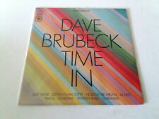 """DAVE BRUBECK """"TIME IN"""" LP VINYL 12"""" BE/G MBE/VG USA"""