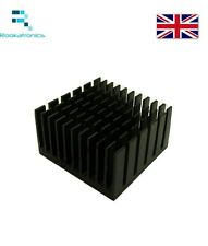 New50.5 X 50.5 X 25 mm Aluminium HeatSink Heat Sink Radiator for Electronic Chip