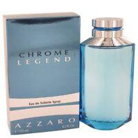 Chrome Legend for Men Eau de Toilette 4.2oz / 125ml by Azzaro