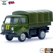 Diecast Vehicles Scale 1:43 Medium Truck UAZ 3303 Soviet Russian Military Car