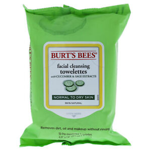 Burt's Bees Facial Cleansing Towelettes - Cucumber & Sage 30 Count Skincare