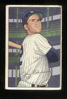 Jerry Coleman of the Yankees on a 1952 Bowman Baseball card #73