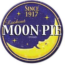 Moon Pie Since 1917  3 Inch Diameter Miniature Sign Magnet