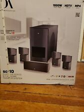 NIB Danon Acoustics SC-10 Platinum Series 5.1 HD Home Theater System 1500W HDTV