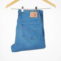 Levis 815 Curvy Bootcut blau Damen Jeans Größe 32/32