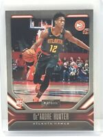 2019-20 Panini Chronicles Playbook #182 DeAndre Hunter RC Rookie Atlanta Hawks
