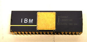 Rare Intel  IBM C8087 CoProcessor Chip    (Ships WorldWide)