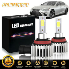 LED Headlight Kit H11 6500K White Bulbs Low Beam Fog for Chevy Impala 2006-2013
