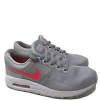 B808 Nike Yourh Air Max Zero Essential GS Sneaker Wolf Grey/Racer Pink US 6.5 Y