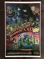 SDCC 2018 THE SIMPSONS TREEHOUSE OF HORROR XXIX 11x17 POSTER EXCLUSIVE FOX RARE