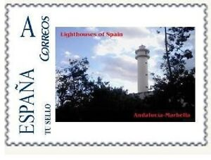 Spain 2016 - Lighthouses of Spain - Andalucia Tu sello mnh (18)