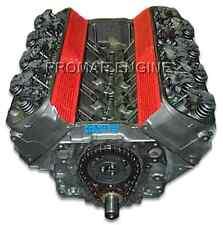 Reman Chevy Gen VI 454 Marine Roller Long Block Engine