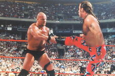 WWF WRESTLEMANIA LIVE PHOTOCARDS 1999 COMIC IMAGES 4 X 6 PROMO CARD 1 OF 2