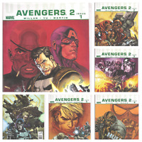 °ULTIMATE AVENGERS 2 CRIME & PUNISHMENT#1 bis 6° US Marvel 2010 Kpl Miniserie