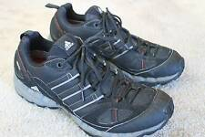 Adidas Gore-Tex Men's Size 8.5 Black Hiking Running Shoes Sneakers -- VGC