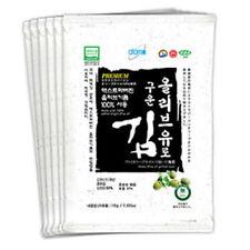 Atomy Grilled Laver Lot 6 Extra Virgin Olive Oil Seaweed Korean Gluten Free Food