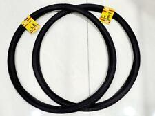 700 X 38C(40-622)FIT 29 WHEELS BIKES TWO HIGH QUALITY BLACK TIRES STREET TIRE