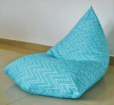 WATERPROOF OUTDOOR BEAN BAG Cover Aqua/ turquoise/ light blue,UV/Mould Resistant