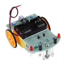 2WD Smart Car Tracking Robot Car Chassis DIY Kit Reduction Motor For Arduino ams