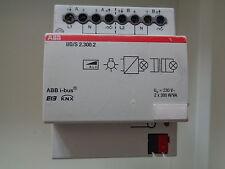 ABB EIB KNX UD/S 2.300.2 Universal-Dimmaktor 2fach, 2 x 300 W/VA,
