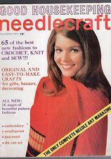 FALL/WINTER 1970-71GOOD HOUSEKEEPING NEEDLECRAFT MAGAZINE-65 BEST NEW FASHIONS