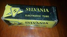 Vintage Sylvania Radio Tube Tubes 5Y4Ga New Old Stock Antique Radio Tube Nos