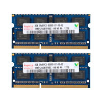 Neu 8GB 2x4GB PC3 8500 DDR3 1066 MHz 204PIN SO-DIMM Laptop Memory RAM For Hynix
