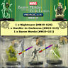 HEROCLIX Baron Mordo and the Fear Lords OP Kit - Nightmare, Dweller-in-Darkness