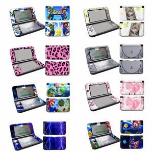 8 Designs -- Vinyl Skin Sticker for Nintendo 3DS XL (LL) Decals