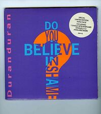 3 X 45 RPM + 3 POST CARDS  LIMITED EDITION DURAN DURAN DO YOU BELIEVE IN SHAME