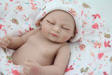 "10"" Mini Reborn Baby Doll Silicone Full Vinyl Realistic Newborn Bebe Preemie"