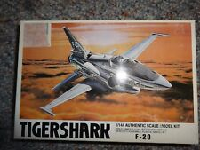 8 LEE TIGERSHARK JET FIGHTER AUTHENTIC SCALE MODEL KIT 1/144 02208 *NEW**