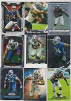 (50) card Mario Williams mixed lot w/ rookies, Buffalo Bills legend