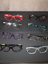 Lot Of 8 Dolce & Gabbana Frames Womens Optical Eyeglass Glasses New Without Tags
