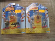 "Chicken Run, 2 New Pks. of 3 Miniature Figures Each, 2000 Playmates,approx.2"""