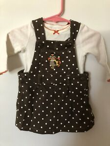 Baby Girl Carter's Thanksgiving Outfit 6M