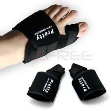 2pcs Big Toe Bunion Splint Straightener Corrector Hallux Valgus Foot Pain Relief