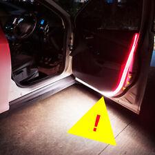 2x Coche Puerta Abierta Lámpara de Advertencia Intermitente LED luces que fluye tira F anticolisión