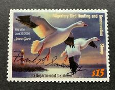 WTDstamps - #RW70 2003 - US Federal Duck Stamp - NG - Signed