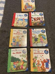 7 Wieso? Weshalb? Warum? Junior Bücherpaket Sehr Gut!