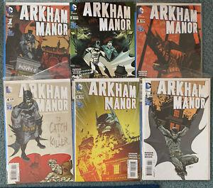 COMPLETE Arkham Manor #1 2 3 4 5 6 (2014 Series DC)