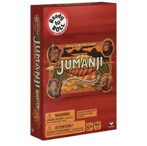 Ready To Roll: Jumanji Game Board Game