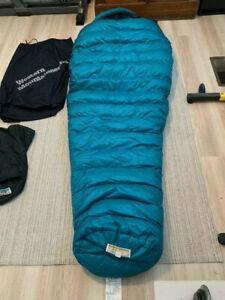 Western Mountaineering Badger Dryloft down sleeping bag, pre-owned, great!