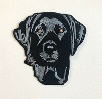 Blue Lab Labrador Retriever Dog Large Jacket Iron/Sew on Embroidered Patch
