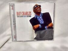 Ray Charles The Classic Blues Sessions 2 CD UK Import 2011 Music Moods    cd4776